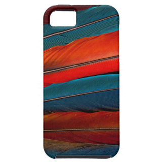 Scarlet Macaw Tail Feathers iPhone 5 Case