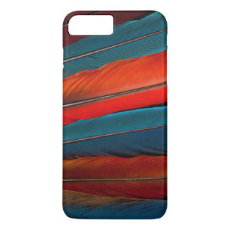 Scarlet Macaw Tail Feathers iPhone 8 Plus/7 Plus Case