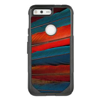 Scarlet Macaw Tail Feathers OtterBox Commuter Google Pixel Case