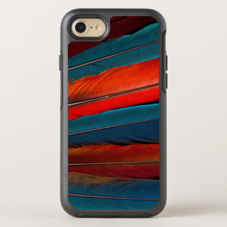 Scarlet Macaw Tail Feathers OtterBox Symmetry iPhone 8/7 Case