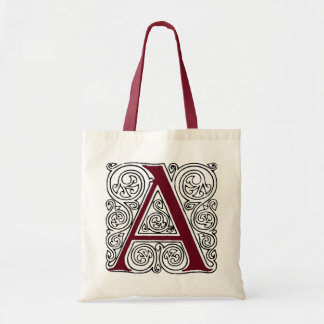 Scarlet Monogram 'A' With Swirls - Bag