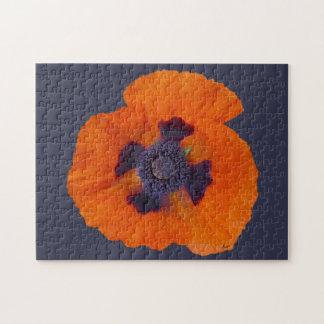 Scarlet Orange Poppy 1 Puzzles