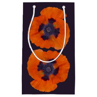 Scarlet Orange Poppy 1 SM & MD Small Gift Bag