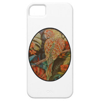 Scarlet Parrot iPhone 5 Case