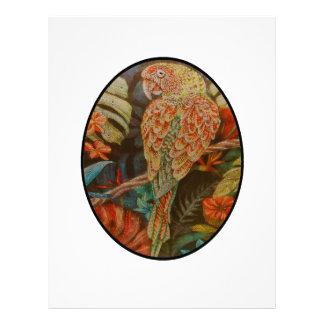 Scarlet Parrot Letterhead