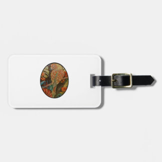 Scarlet Parrot Luggage Tag