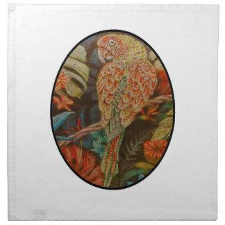 Scarlet Parrot Napkin