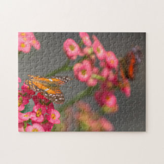 Scarlet Peacock Jigsaw Puzzle