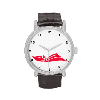 Scarlet Red Speed Boat Watches