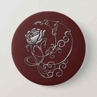 Scarlet Rose Button