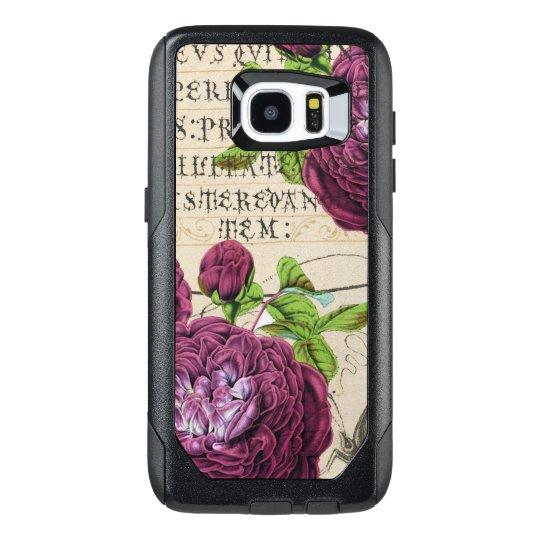 Scarlet Rose Vintage OtterBox Samsung Galaxy S7 Edge Case