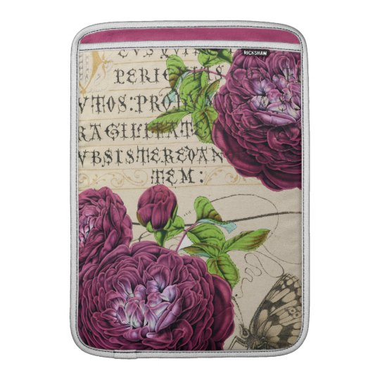 Scarlet Rose Vintage Sleeves For MacBook Air