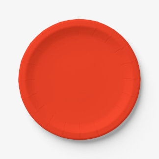 Scarlet Solid Colour