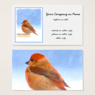 Scarlet Tanager Business Card