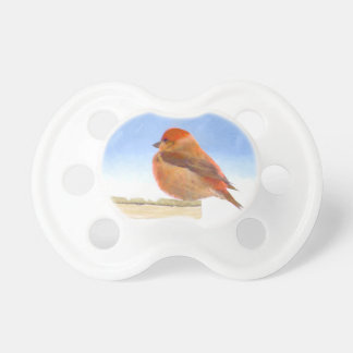 Scarlet Tanager Pacifier