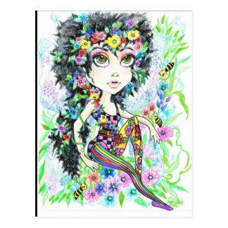 Scarlett Fairy Fantasy Art Postcard