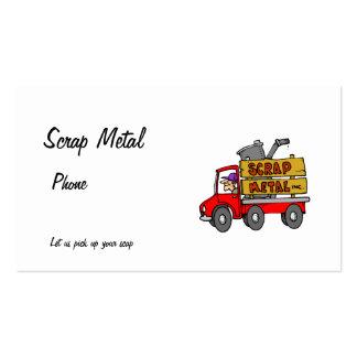 Scarp Metal Business Card Templates