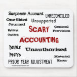 Scary Accounting - Humourous Horror Show Mouse Pad
