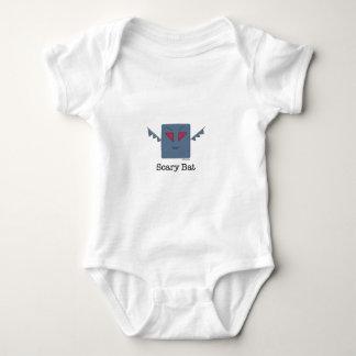 Scary Bat_monsters.011.013 Baby Bodysuit