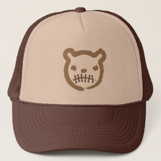Scary bear trucker hat