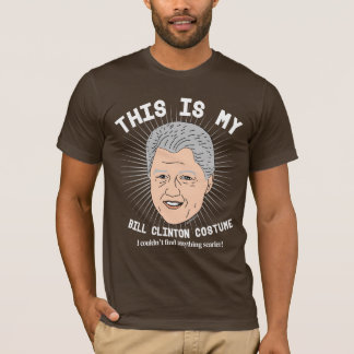Scary Bill Clinton Halloween Costume T-Shirt