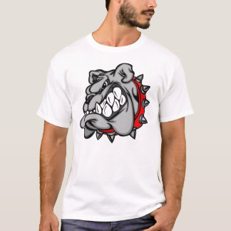 Scary bulldog shirt