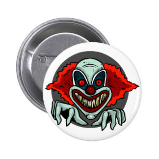 Scary Clown 2 Inch Round Button