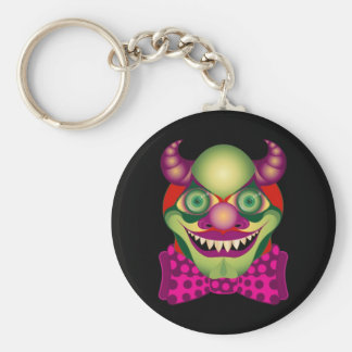 Scary Clown awesomely horrific and cute keychain 2