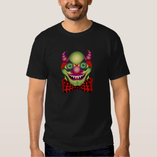 Scary Clown awesomely horrific and funny Tee v.1