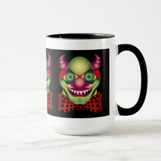 Scary Clown awesomely horrific mug
