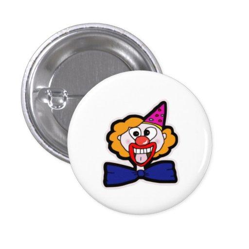 Scary Clown Pinback Button