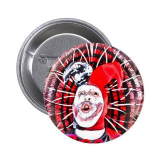 scary clown pin