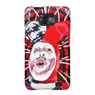 scary clown samsung galaxy s2 cover