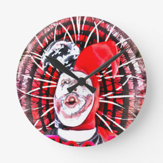 scary clown clocks