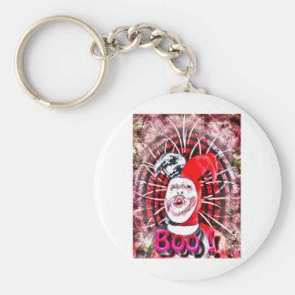 scary clown keychain