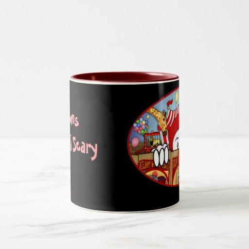 Scary Clown Kilroy Mug