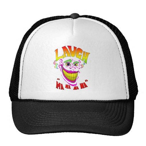 Scary Clown Laugh Mesh Hat