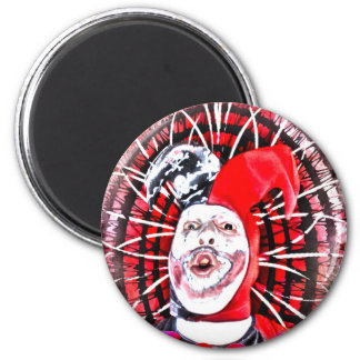 scary clown magnet