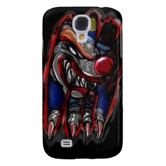 Scary Clown Monster Ripping Galaxy S4 Case