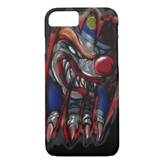 Scary Clown Monster Ripping (iPhone 7) iPhone 7 Case