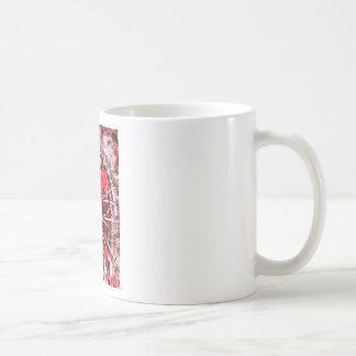 scary clown coffee mug