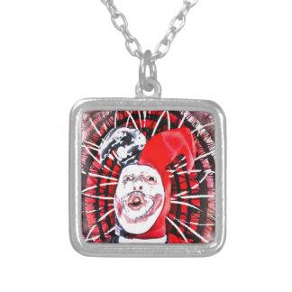 scary clown custom necklace