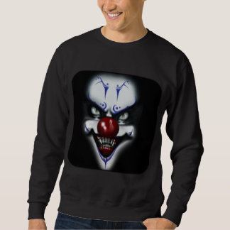 Scary Clown Pull Over Sweatshirts