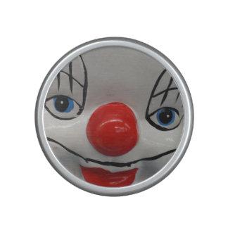 Scary clown speaker