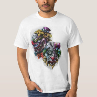 scary clown tattoo T-Shirt