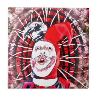 scary clown tiles
