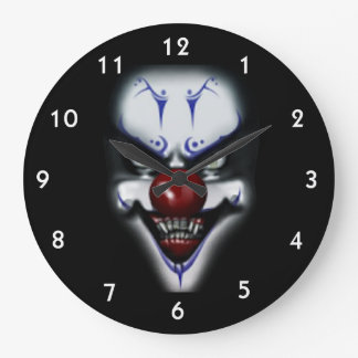 Scary Clown Wallclocks