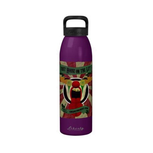 Scary Clown Water Bottles