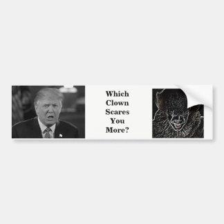 Scary Clowns Bumper Sticker