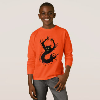 Scary Demon Creature Halloween T-Shirt